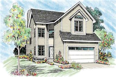 Main image for house plan # 18342