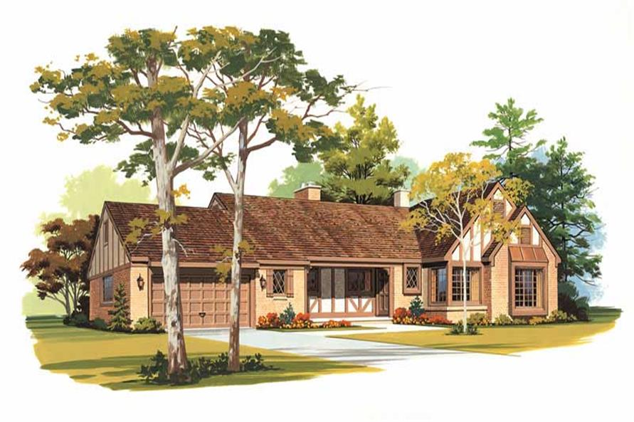 Main image for house plan # 18405