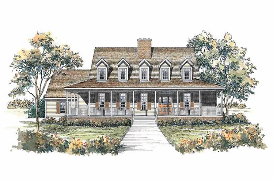 137-1490: Home Plan Rendering