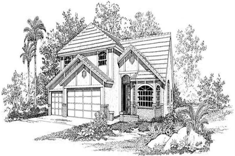 Main image for house plan # 18439