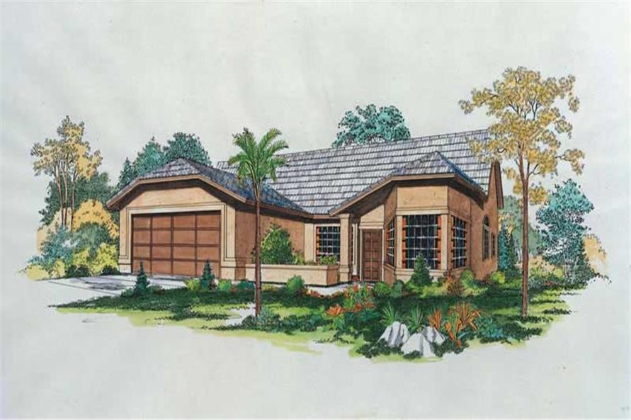 Main image for house plan # 18442