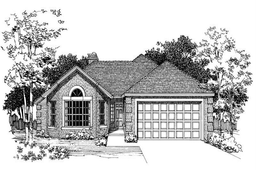 Home Plan Rendering of this 2-Bedroom,1560 Sq Ft Plan -137-1496