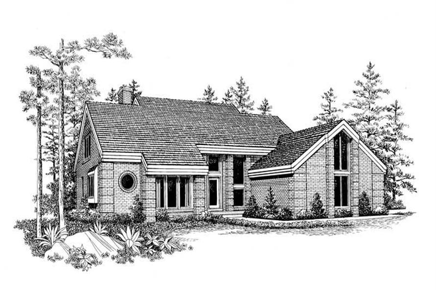 Main image for house plan # 18638