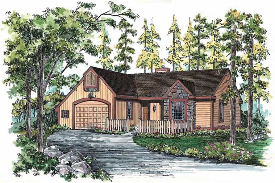 Main image for house plan # 18647