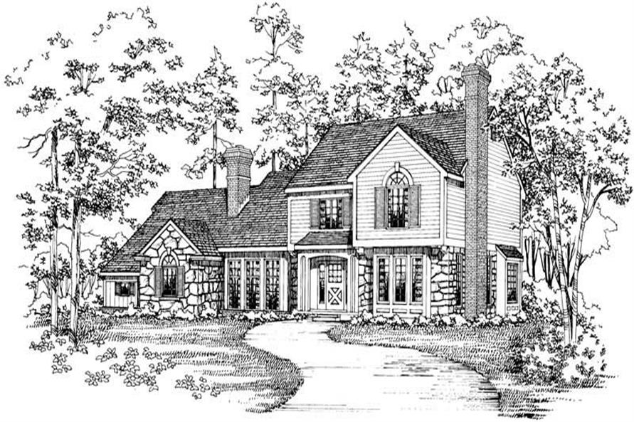 Main image for house plan # 18648