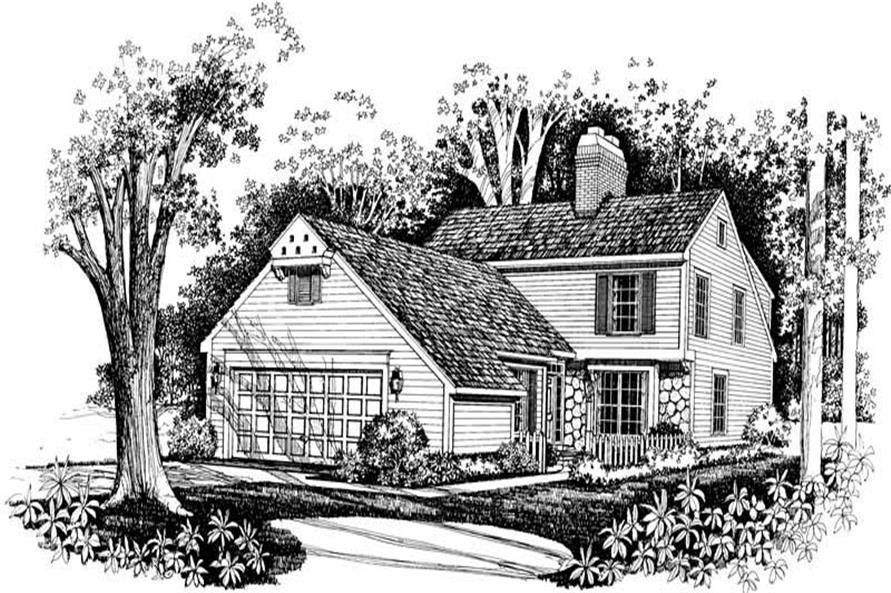Main image for house plan # 18778