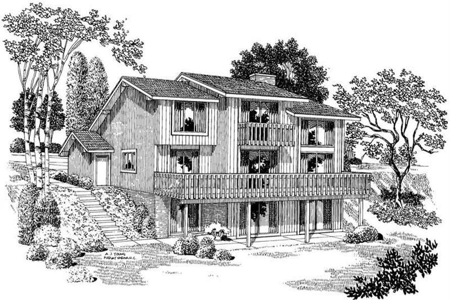 House Plan #137-1507