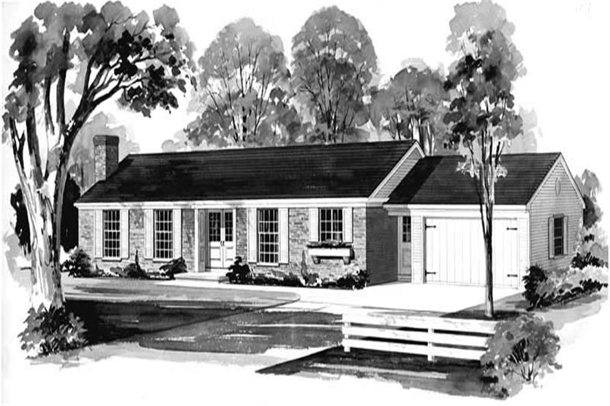 Main image for house plan # 17377