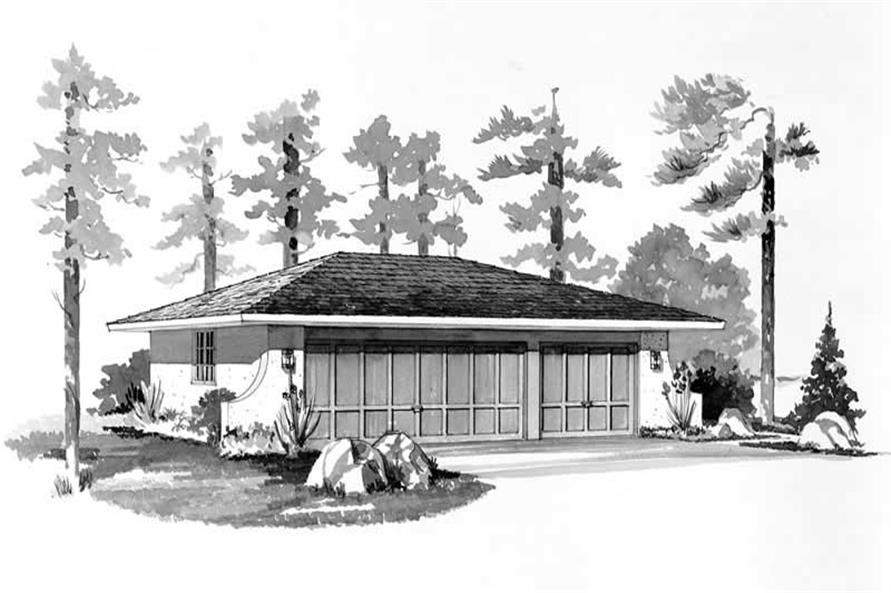 Main image for house plan # 18798