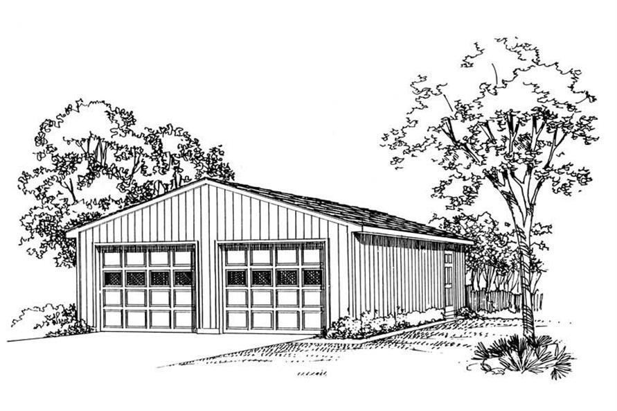 Main image for house plan # 18806