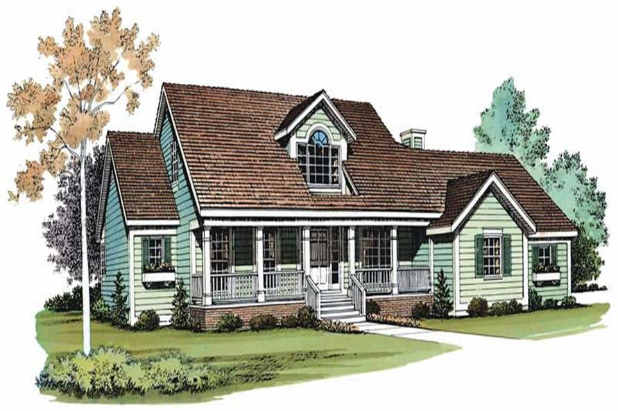 Main image for house plan # 18480