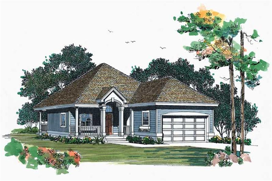 Main image for house plan # 18456