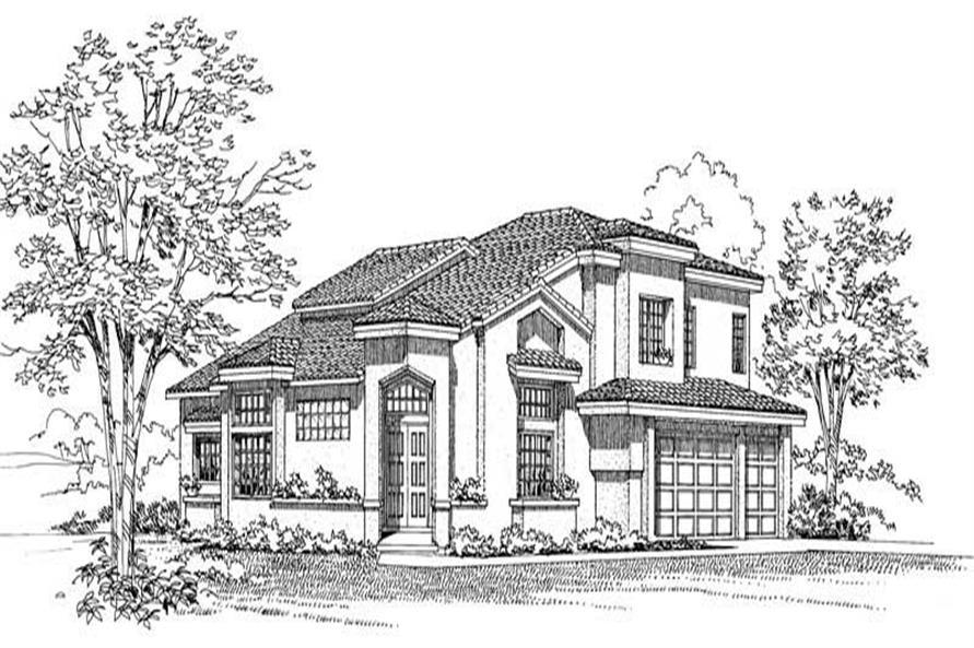 3449 HOUSE PLAN IMAGE