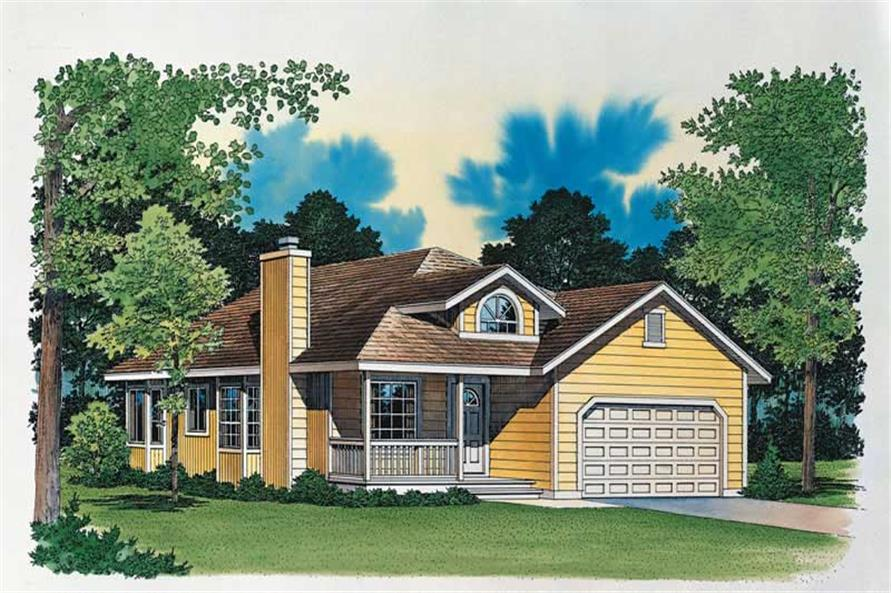 Main image for house plan # 18479