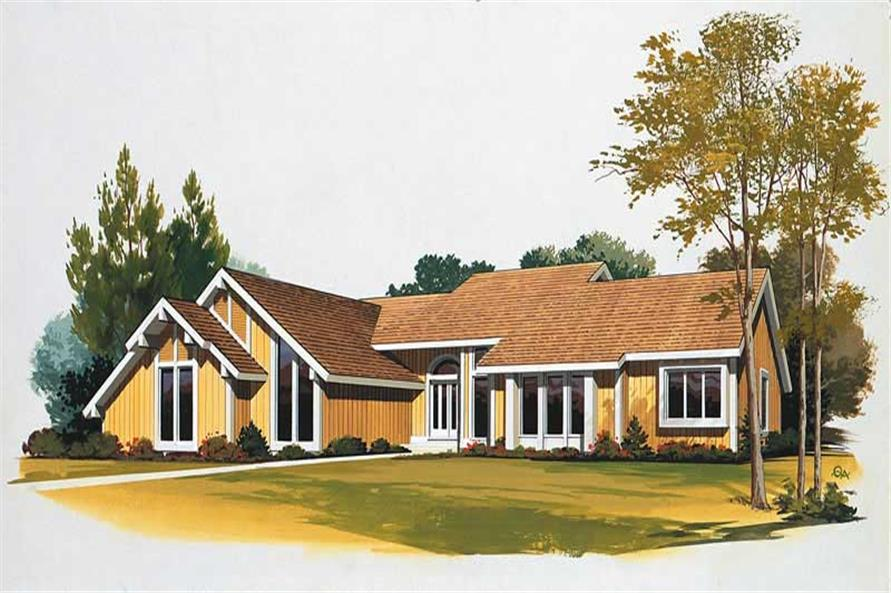 Main image for house plan # 18516