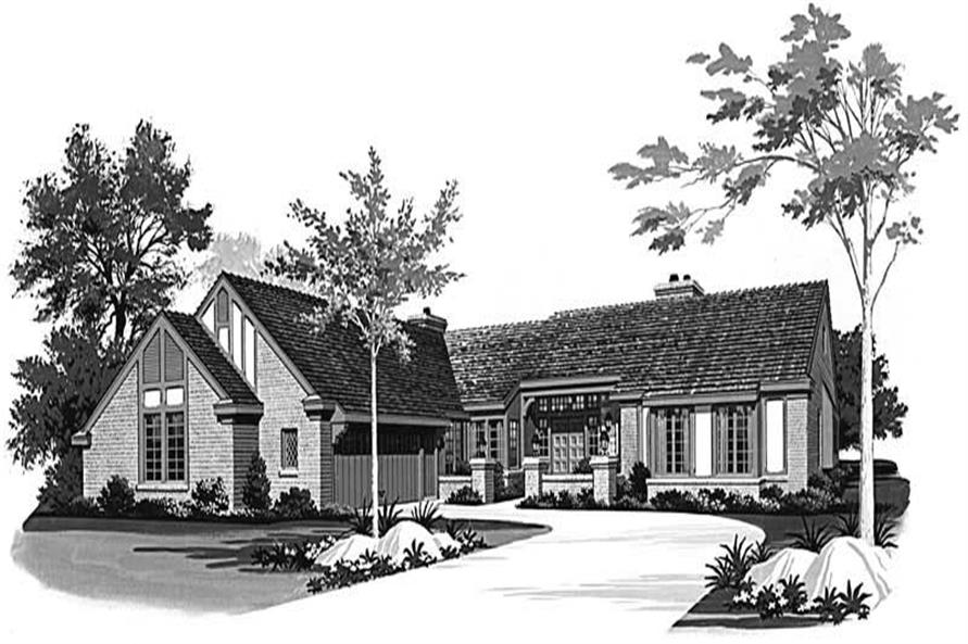 Main image for house plan # 18548