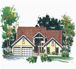 House Plan #137-1544