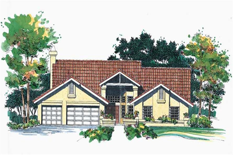 Main image for house plan # 18445
