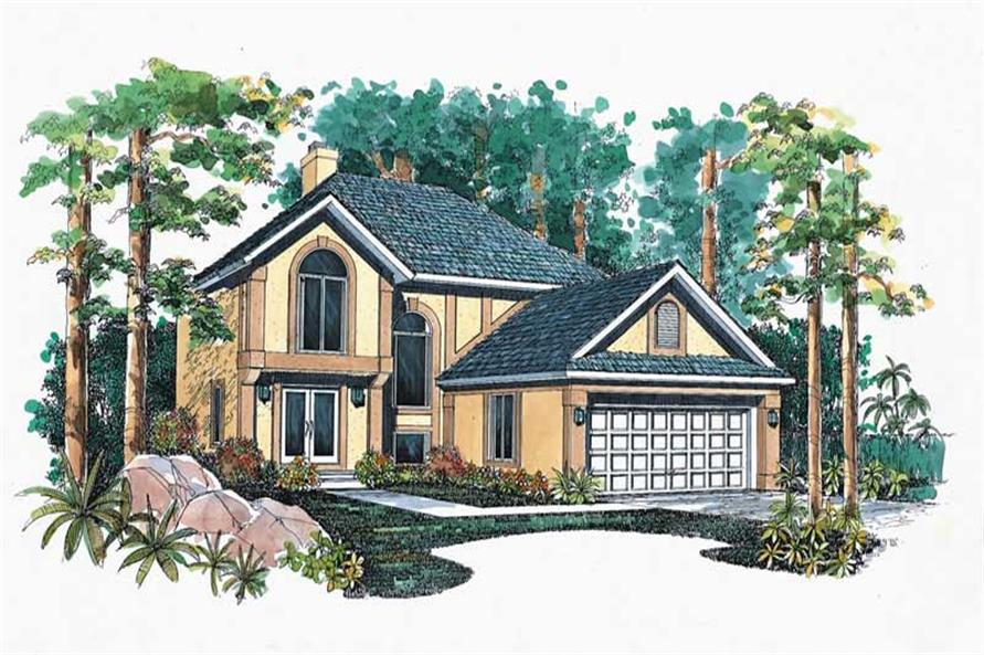 Main image for house plan # 18277