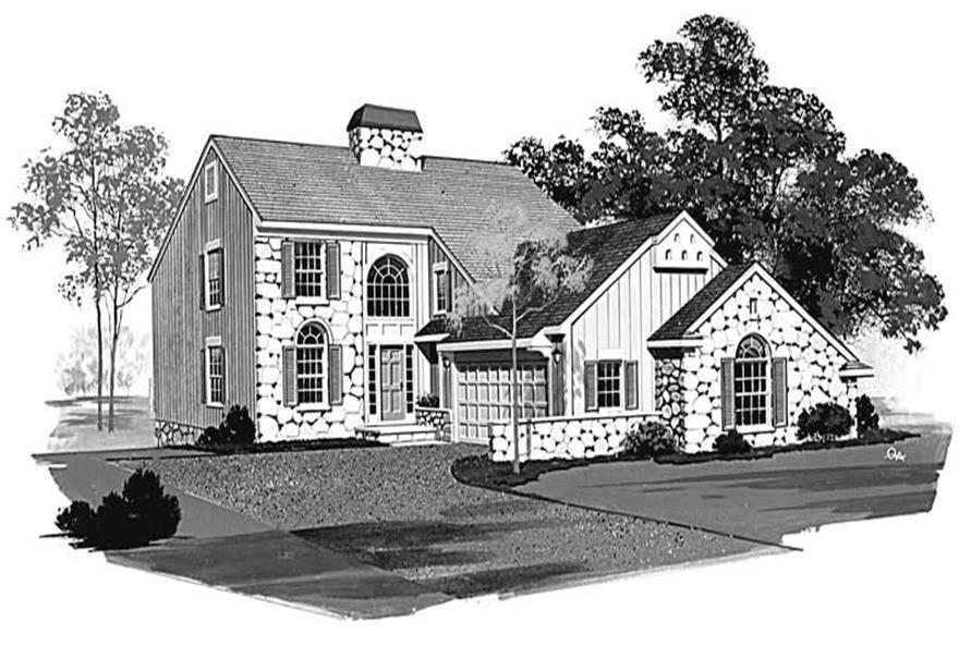 Main image for house plan # 18401