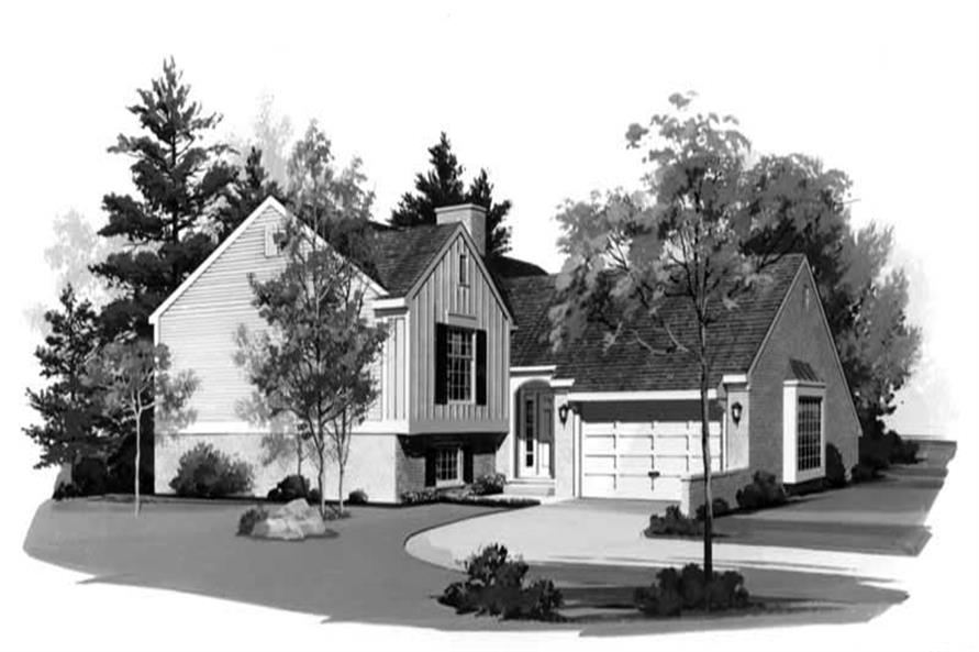 Main image for house plan # 18402