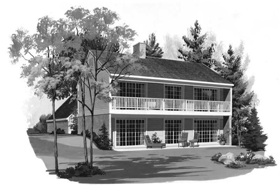 House Plan #137-1552