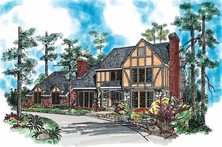 Main image for house plan # 18484