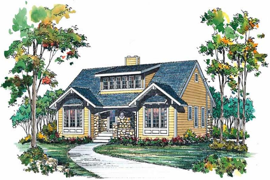 Main image for house plan # 18605