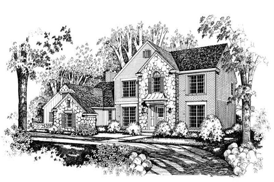 Main image for house plan # 18664