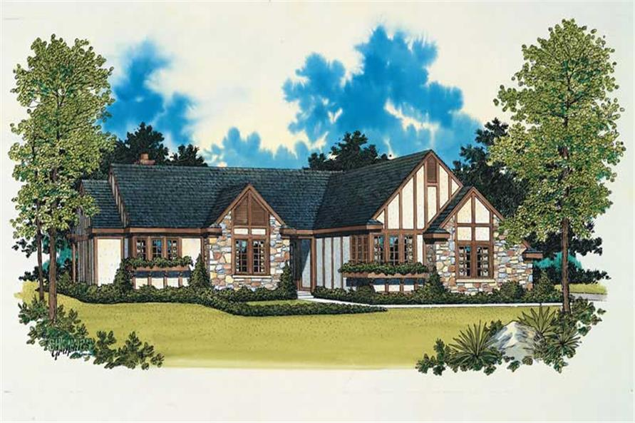 Main image for house plan # 18637