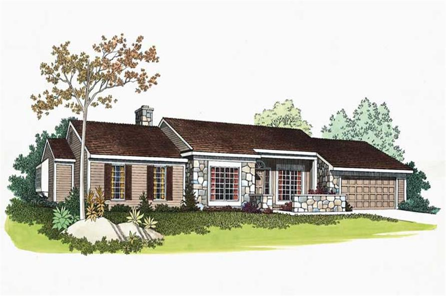 Main image for house plan # 18641