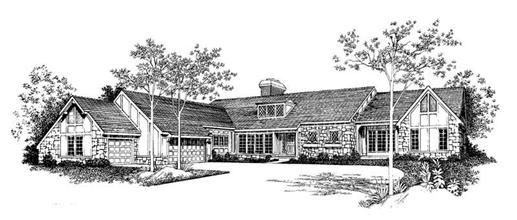 Main image for house plan # 18645