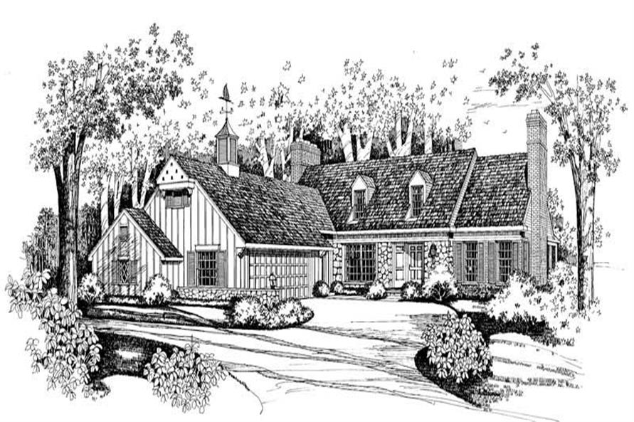 Main image for house plan # 18656