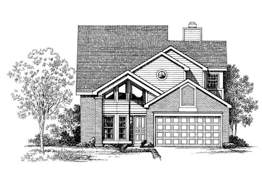 Main image for house plan # 18347