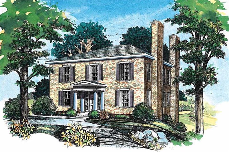 Main image for house plan # 18306