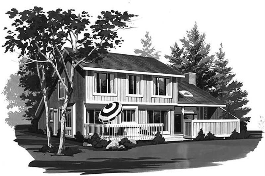 House Plan #137-1585