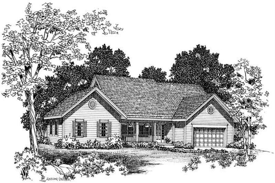 Main image for house plan # 18335