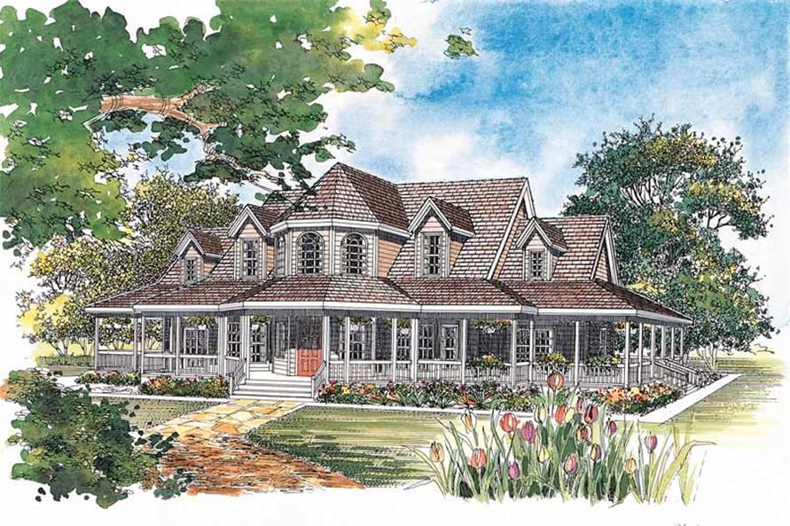 Main image for house plan # 18228