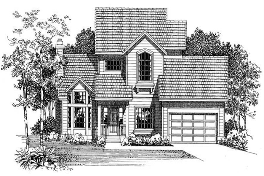 Main image for house plan # 18457