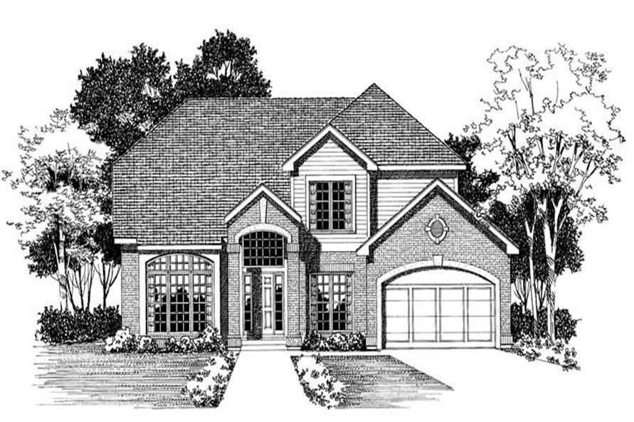Main image for house plan # 18469