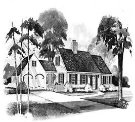 House Plan #137-1610