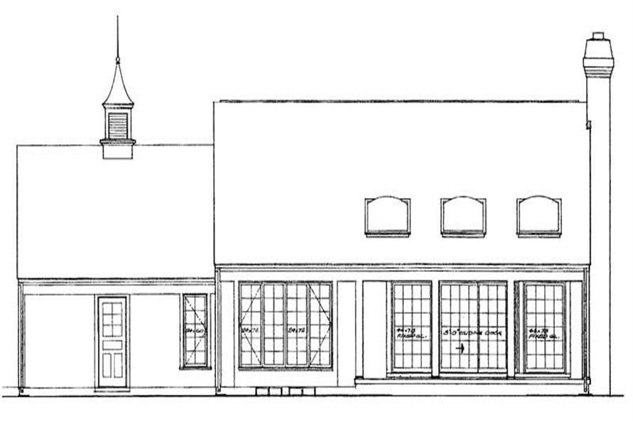 House Plan #137-1611