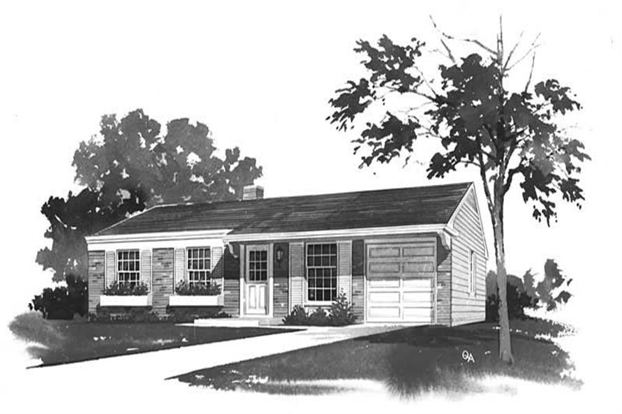 Main image for house plan # 18590