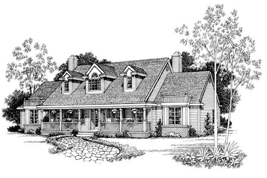 Main image for house plan # 18145