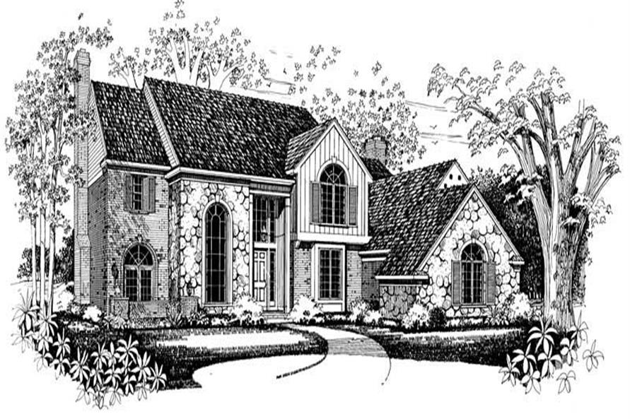 Main image for house plan # 18287