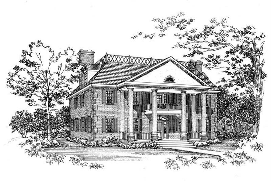 Main image for house plan # 18292