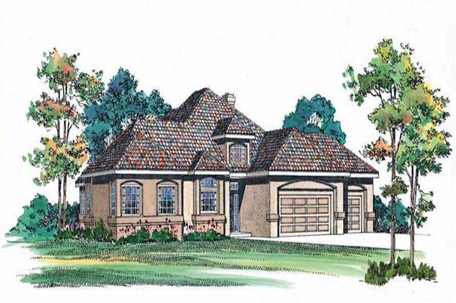 Main image for house plan # 18453