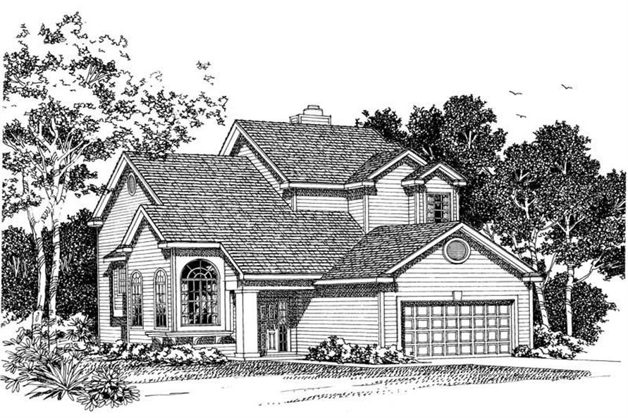 Main image for house plan # 18349