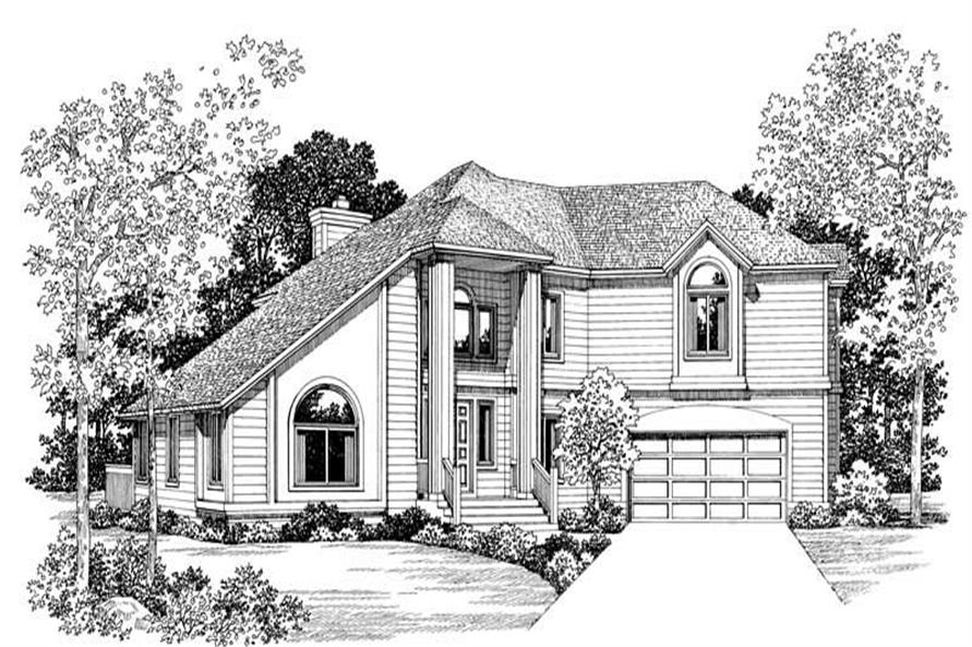 Main image for house plan # 18357