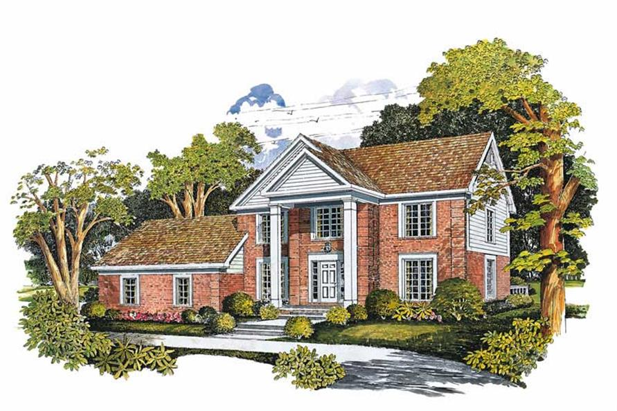 Main image for house plan # 18358